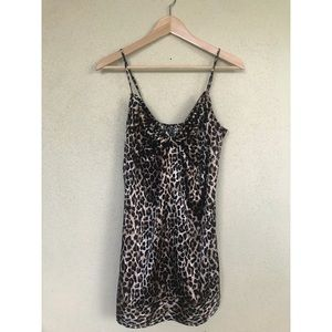Victoria's Secret Leopard cheetah lingerie nightie